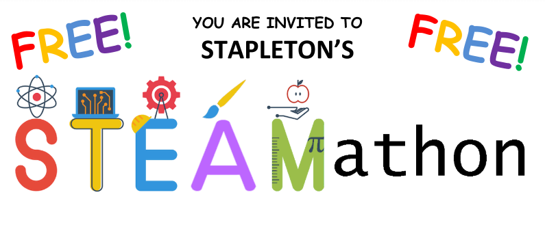 Stapleton STEAMathon - Free event Thursday April 11th 6pm